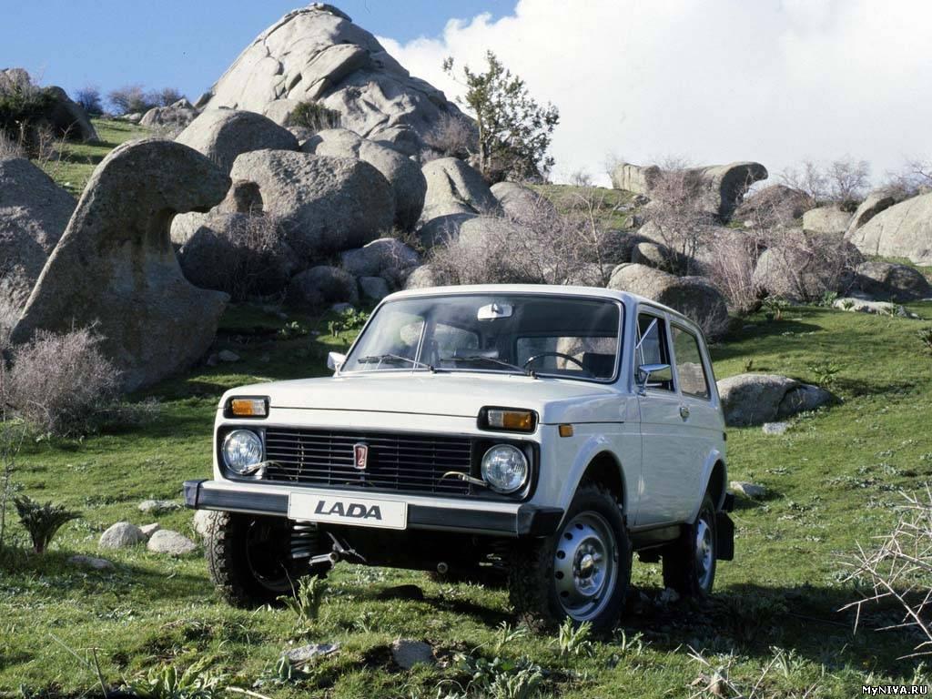 Новость по модели Lada 4x4…
